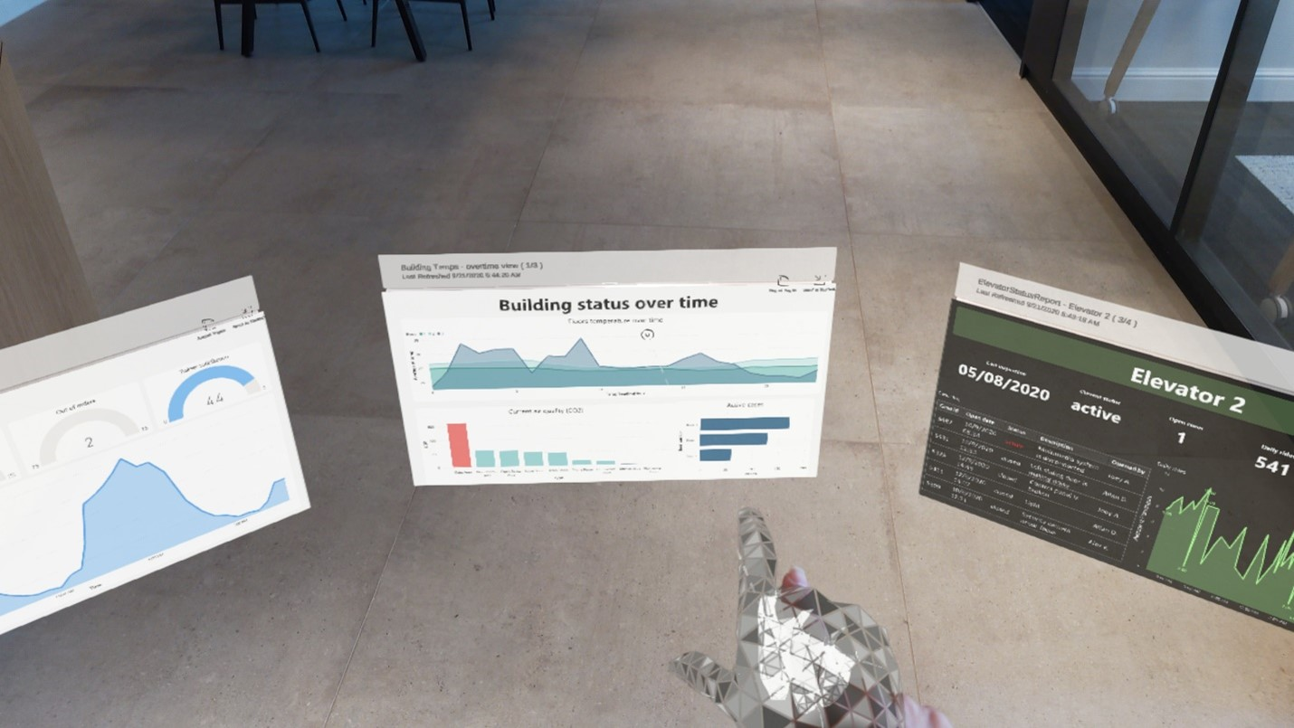 Power BI Hololens 2